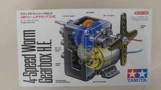 TAMIYA 名牌 機動模型 4 Speed Worm Gear Box 發展兒童頭腦