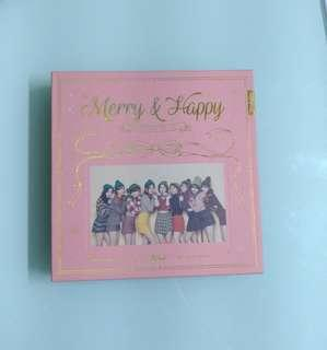 Twice Merry and Happy (Only Album)no cd