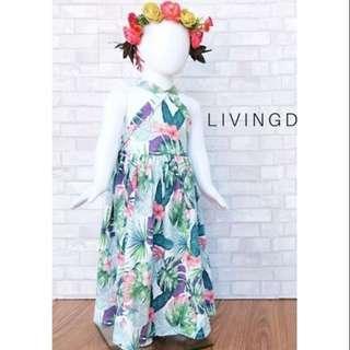 Livingdoll Floral Maxi