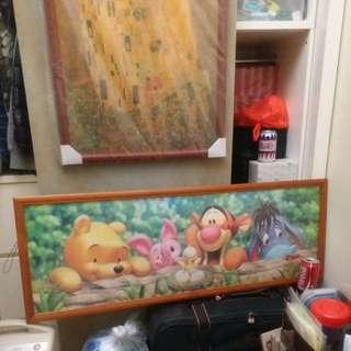 🈹️Winnie the pooh 砌圖 puzzle with frame