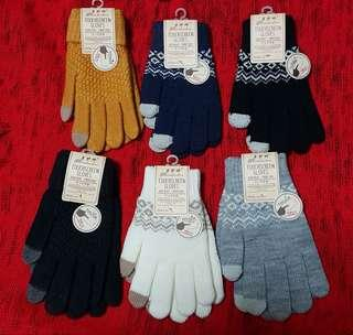 TOUCH SCREEN GLOVES FOR WINTER