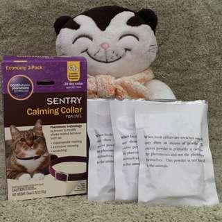 美國直送 The Sentry Calming Collar for Cats 貓舒緩情緒頸帶