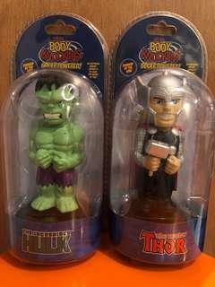 復仇者聯盟 綠巨人Hulk 雷神Thor figure 人形公仔