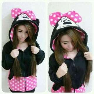 Minnie Mouse Hoodie Jacket Character