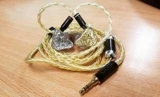 DIY 6動鐵+10mm大動圈 7單元耳機