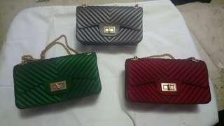 Chanel inspired Jelly bags 22cm