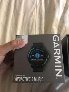 garmin vivo active 3 music