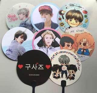 EXO Various Handfans