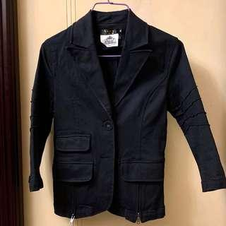 Korea Slim Cut Denim Jacket 韓國修身中袖牛仔褸