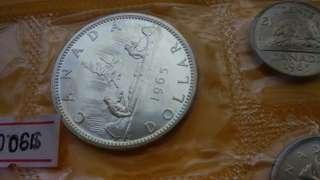 1965 加拿大套裝幣