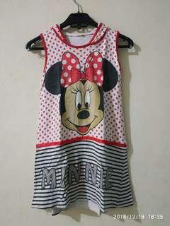 Dress Minnie anak perempuan