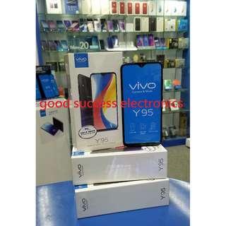 Vivo Y95 (4 + 64GB) 6.22吋水滴屏幕 全新香港行貨 原廠一年保養💥( 照價再減 . 歡迎查詢現金優惠價 )