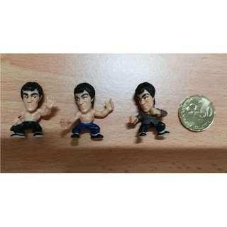 Bruce Lee small display figure gashapon chibi 李小龙