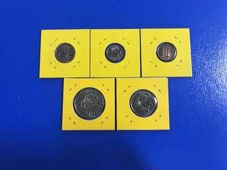1985 coin set