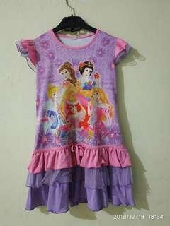 Dress Princess anak perempuan