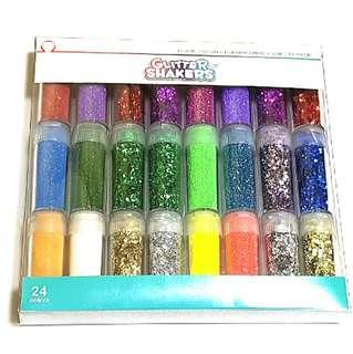Instock: Glitter Shakers (Pearl, Neon, Holographic variety pack)