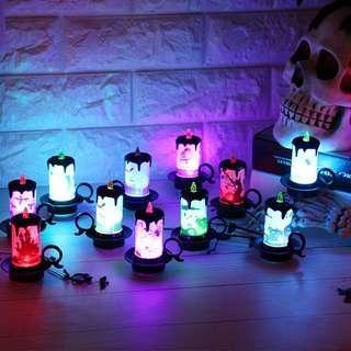 🚚 Halloween candle LED light