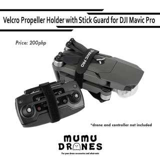 Propeller Holder with Controller Stick Guard Protector for DJI Mavic Pro