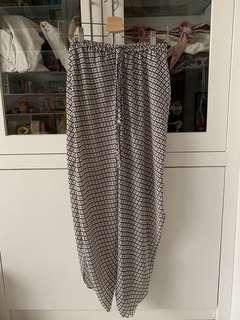 Pattern Loose Summer Pants
