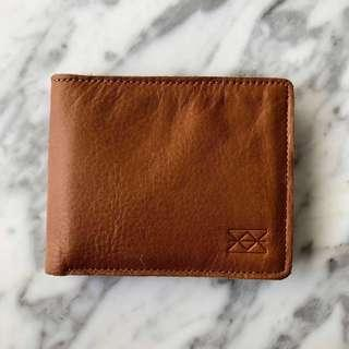 Welkin and spine dompet kulit pria