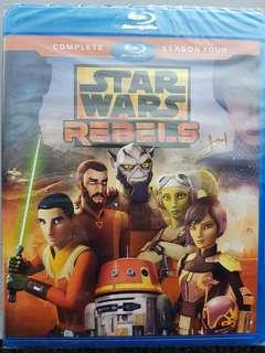 STAR WARS REBELS SEASON 4 BLURAY