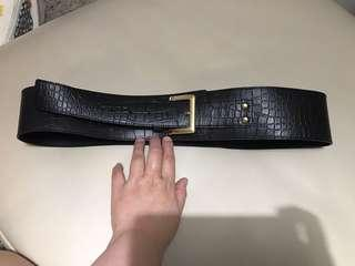 belt leather giordano ladies