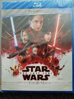 STAR WARS LAST JEDI BLURAY