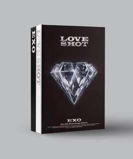 "[EMS PO] EXO 5th REPACKAGED ""LOVE SHOT"""