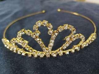 Tiara - Gold & Diamonds for adult/kids