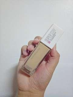 MAYBELLINE NEW YORK SUPERSTAY FULL COVERAGE FOUNDATION