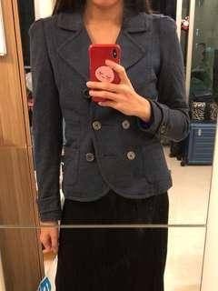 Size 36 藍色blazer