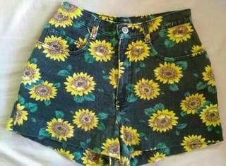 Sunflower Denim Shorts