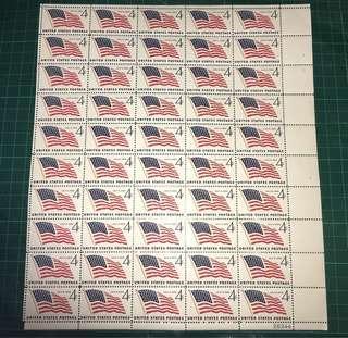 美國 國旗 郵票