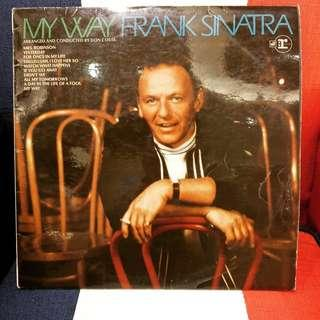 FrankSintra 1969《My Way》進口原版黑膠唱片《法蘭克辛納區》爵士樂迷/必須收藏的一張