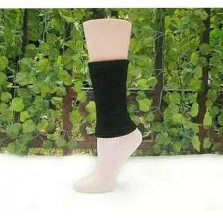🚚 【智美精品屋】腳踝襪套  男女適用  保暖舒適  彈性佳  黑色襪套  小腿襪套