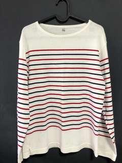uniqlo Striped Pullover