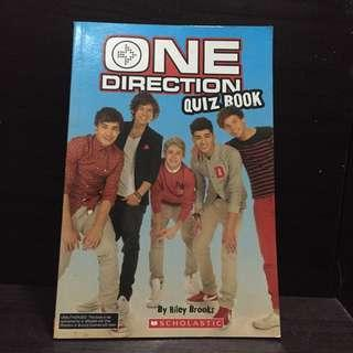 One Direction Unofficial quiz book
