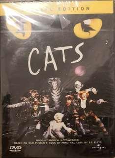全新 cats  貓 百老匯音樂劇 dvd