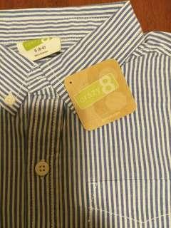 🚚 Crazy 8 5-6條紋襯衫
