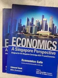 Economics Textbook and Model Essay book from Economics Cafe