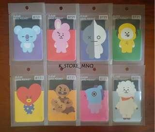Bt21 monopoly clear card case