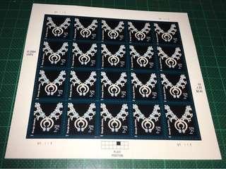 2004 美國 自動黏貼 郵票