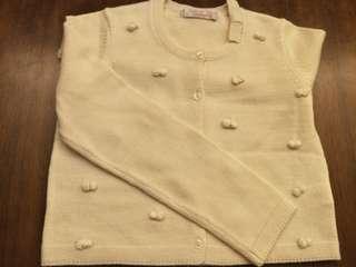🚚 安妮公主 140 針織小外套