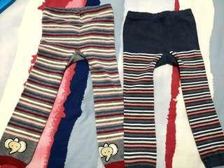 2 pc of Knitted warm Leggings