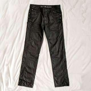 Aston, Stylish Baggy Jeans, Size 32, Black