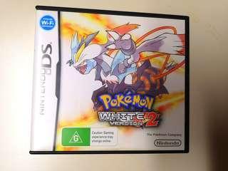 Pokemon White Version 2 - AUS PAL Boxed with Manual