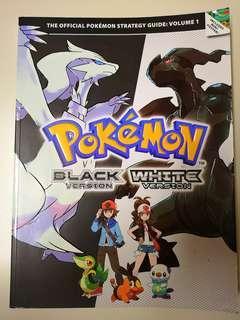Pokemon Black and White Version Strategy Guide Book