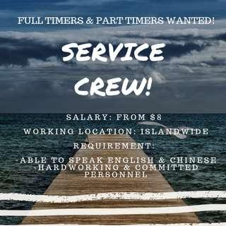 JOBS AVAILABLE FOR PART TIMERS & FULL TIMERS