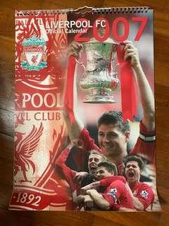 Liverpool FC 2007 Official Calendar