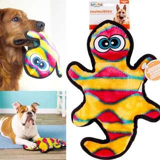 Brand New Outward Hound Invincibles Geckos Squeak Dog Toy, 2-Squeaker
